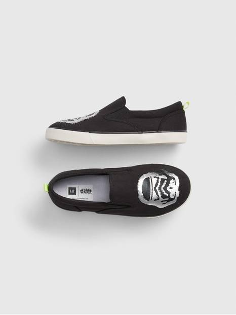 GapKids &#124 Star Wars&#153 Flippy Sequin Slip-On Sneakers