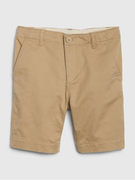 Lived-In Khaki Shorts