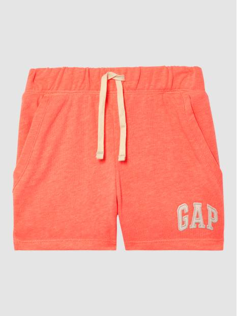 Kids Gap Embroidered Arch Logo Pull-On Shorts