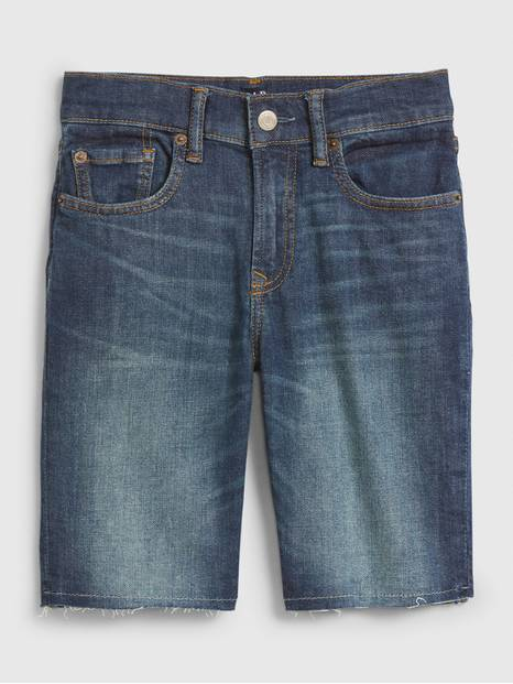 Kids Denim Everyday Shorts with Stretch