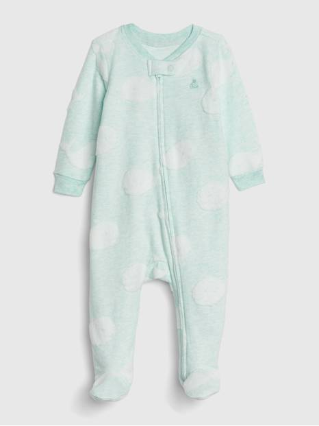Baby Brannan Footed One-Piece