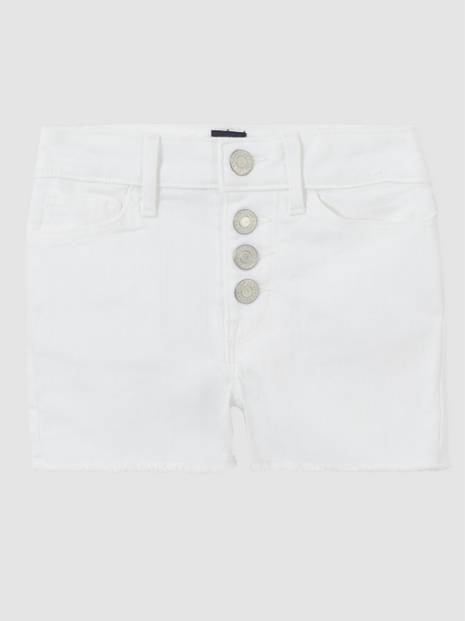 Kids High-Rise Denim Shorts