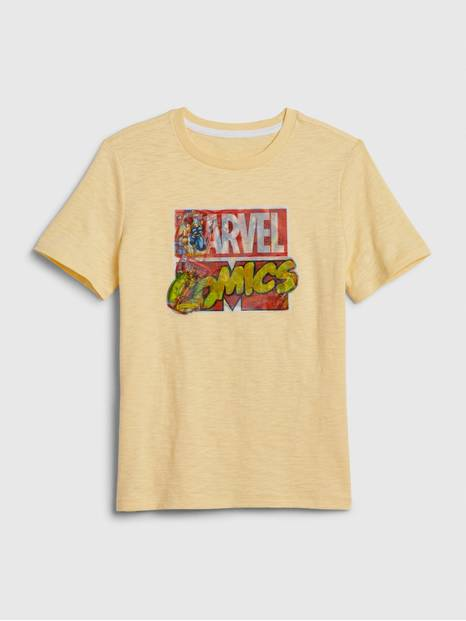 GapKids &#124 Marvel Hologram Graphic T-Shirt