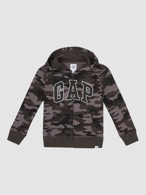 Kids Fit Tech Gap Logo Hoodie