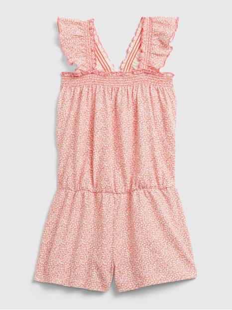 Toddler Smocked Ruffle Romper