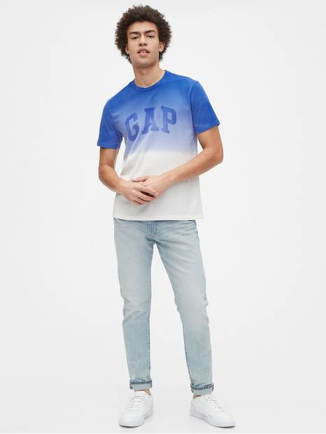 Gap Arch Logo Dipped T-Shirt