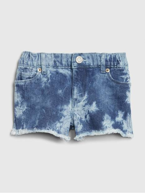 Toddler Tie-Dye Denim Shorts