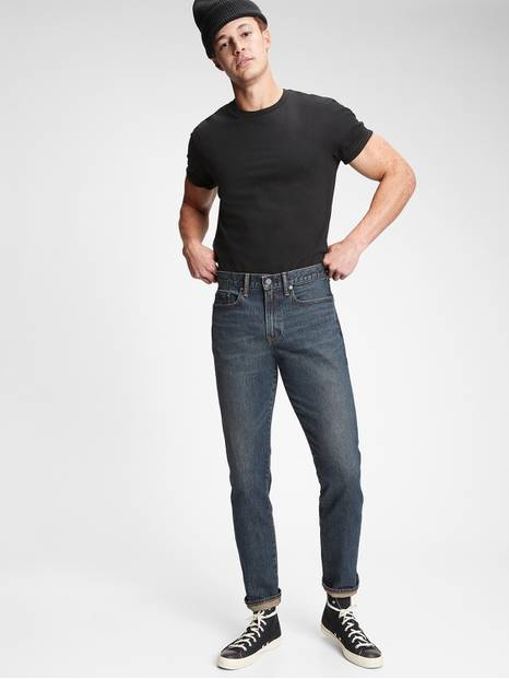 Slim Straight Jeans with GapFlex