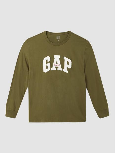 Gap Original Logo Long Sleeve T-Shirt