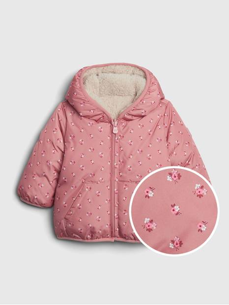 Baby ColdControl Max Reversible Puffer Jacket