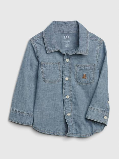 Baby Brannan Bear Chambray Shirt