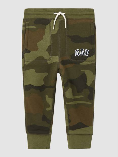 Toddler Printed Cozy Logo Joggers
