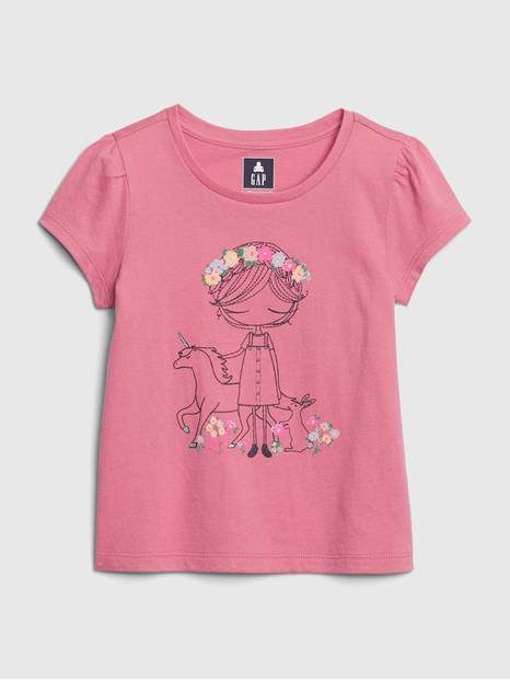 Toddler Mix-and-Match Bea Graphic T-Shirt