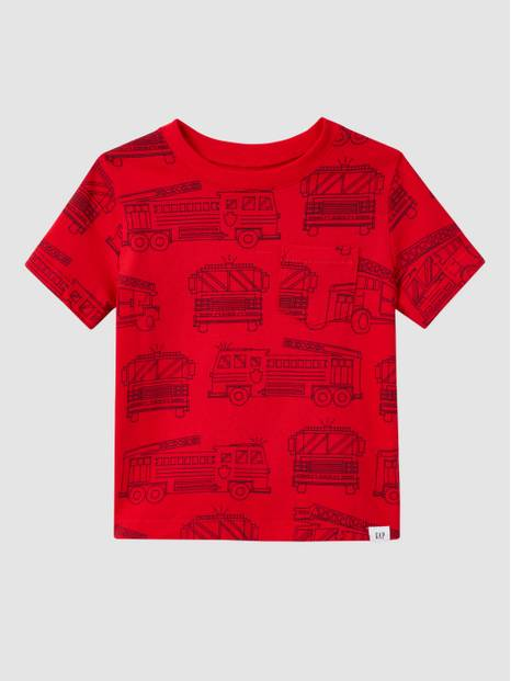 Toddler Graphic Print Crewneck T-Shirt
