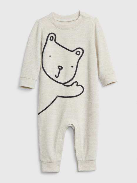 Baby Bear Graphic One-Piece