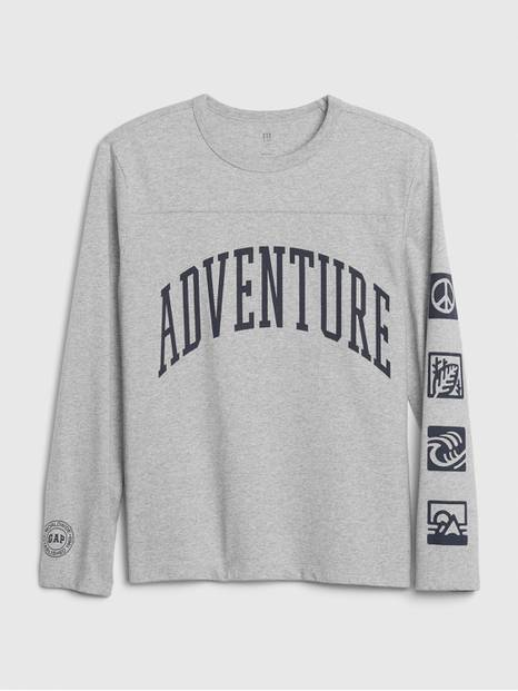 Kids Long Sleeve Graphic T-Shirt