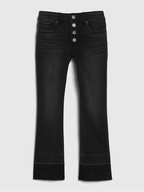 Kids High-Rise Cropped Flare Jeans