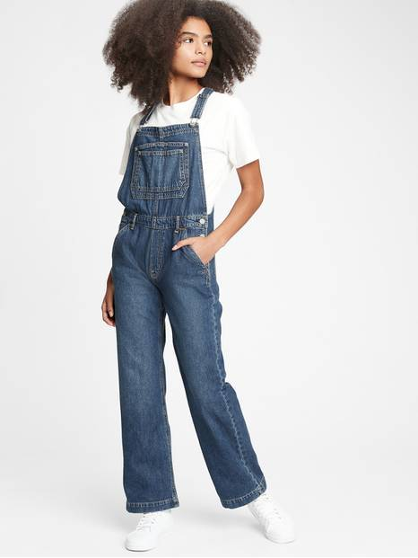 Teen 90's Inspired Denim Overalls