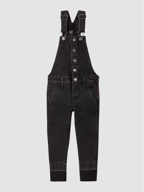 Kids High-Rise Overall Jeggings with Stretch