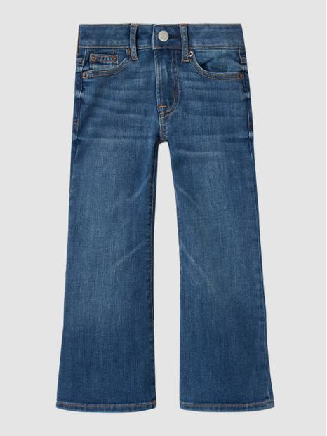 Kids High Rise Flare Jeans with Stretch
