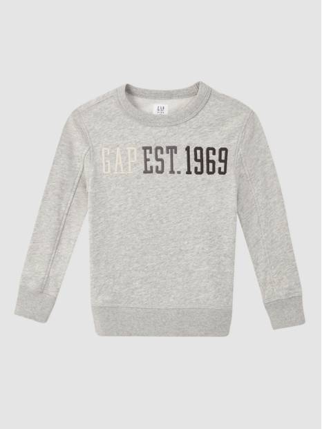 Kids International Logo Crewneck Sweatshirt