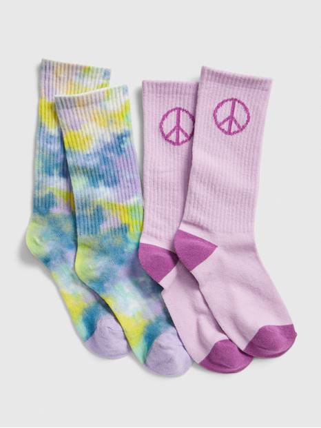 Kids Tube Socks (2-Pack)