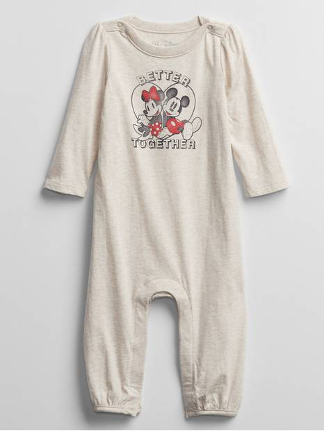 babyGap &#124 Disney Mickey and Minnie Mouse One-Piece