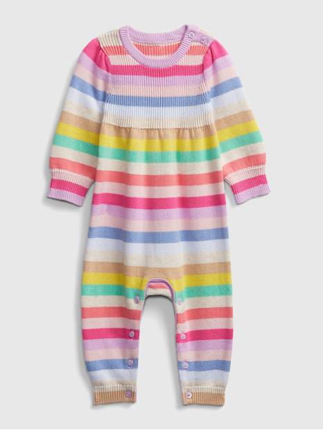 babyGap Happy Stripe One-Piece