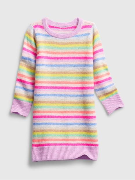 Toddler Happy Stripe Dress