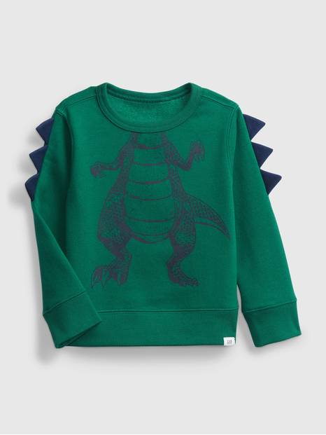 Toddler 3D Crewneck Sweatshirt