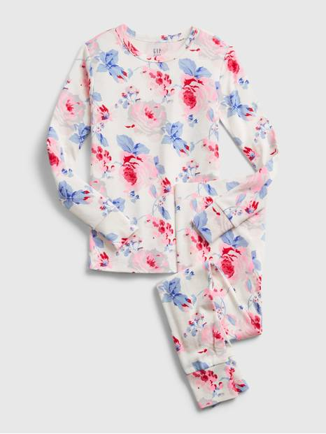 Kids Floral PJ Set