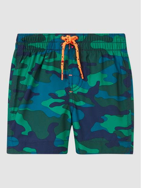 Toddler Recycled Graphic Swim Trunks