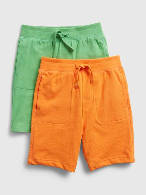 Toddler Pull-On Shorts (2-Pack)