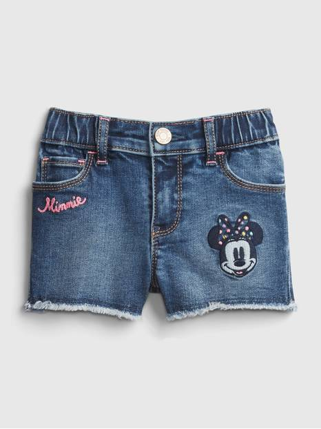 babyGap &#124 Disney Minnie Mouse Denim Shorts