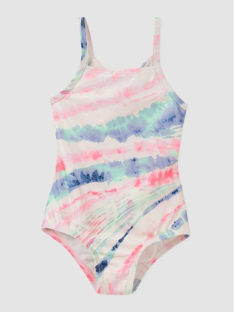 Toddler Recycled Tie-Dye Swim One-Piece