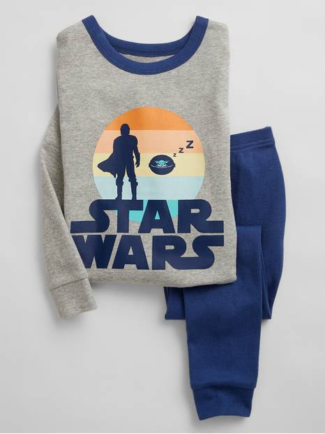 babyGap | Star Wars&#153 The Mandalorian Organic Cotton PJ Set