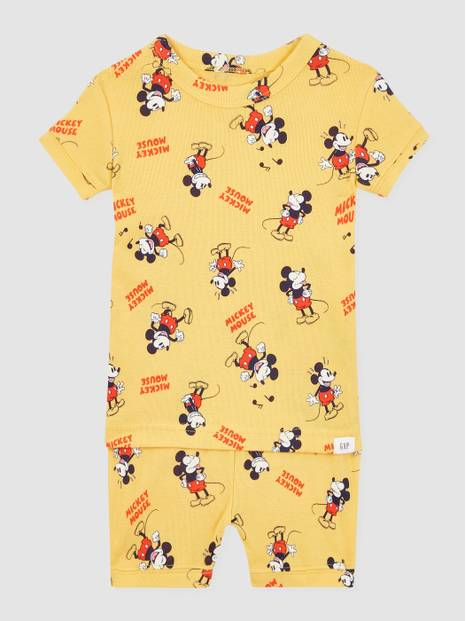 Baby Disney Mickey Mouse Organic Cotton PJ Set