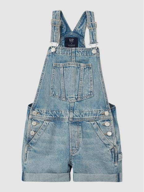 Teen Denim Shortall