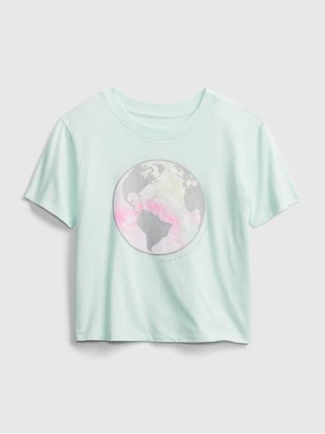 Kids Boxy Graphic T-Shirt