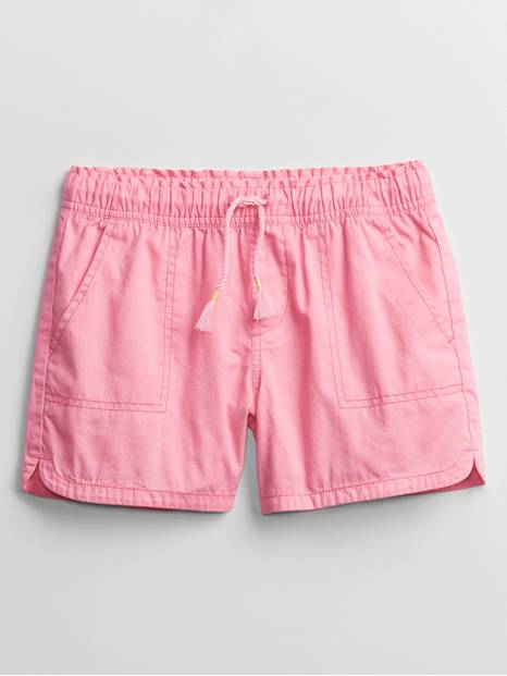 Kids Woven Pull-On Shorts
