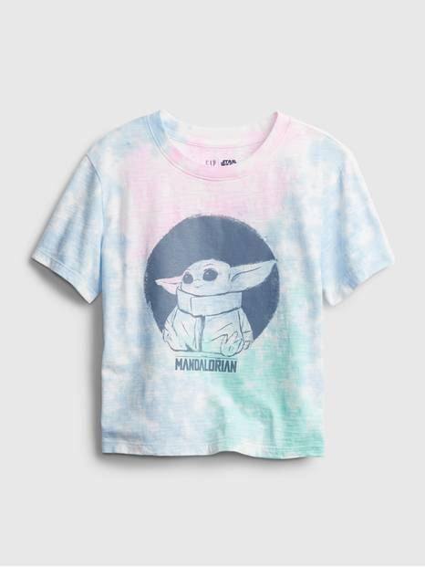 GapKids &#124 StarWars&#153 The Mandalorian Baby Yoda Graphic T-Shirt