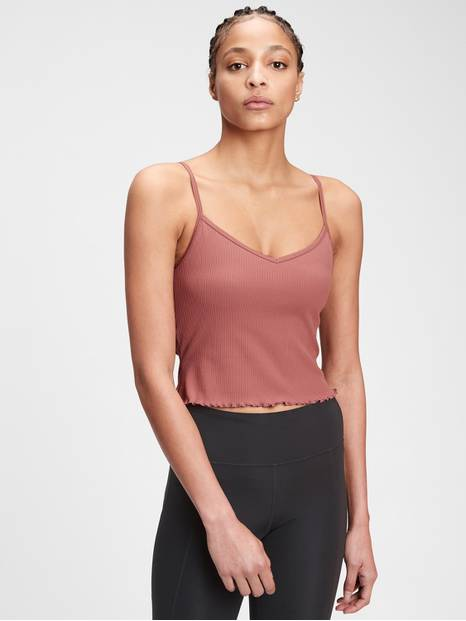 GapFit Blackout Ribbed Cami