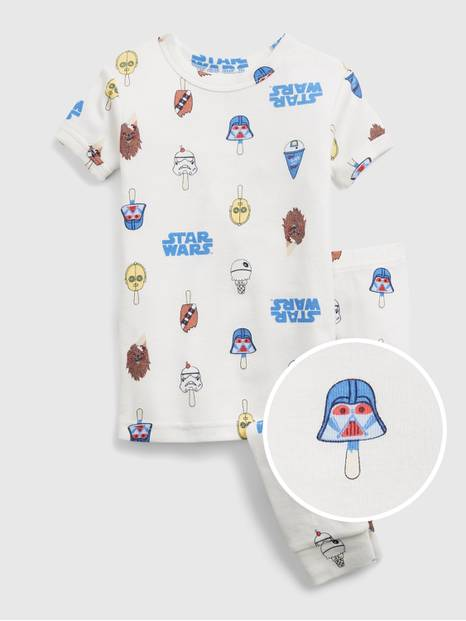 babyGap &#124 Star Wars&#153 Ice Cream Graphic 100% Organic Cotton PJ Set