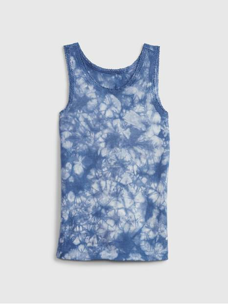 Kids Lace Trim Tank Top